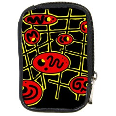 Red and yellow hot design Compact Camera Cases