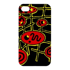 Red and yellow hot design Apple iPhone 4/4S Hardshell Case