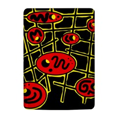 Red and yellow hot design Kindle 4