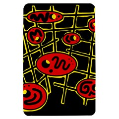 Red and yellow hot design Kindle Fire (1st Gen) Hardshell Case