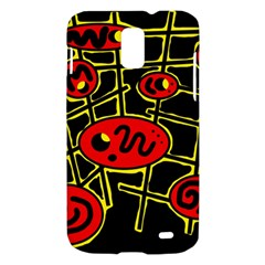 Red and yellow hot design Samsung Galaxy S II Skyrocket Hardshell Case