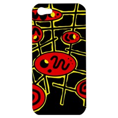 Red and yellow hot design Apple iPhone 5 Hardshell Case