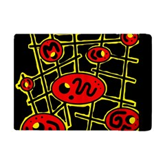 Red and yellow hot design Apple iPad Mini Flip Case