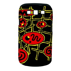 Red and yellow hot design Samsung Galaxy S III Classic Hardshell Case (PC+Silicone)