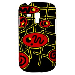 Red and yellow hot design Samsung Galaxy S3 MINI I8190 Hardshell Case