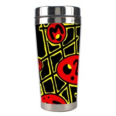 Red and yellow hot design Stainless Steel Travel Tumblers
