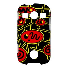 Red and yellow hot design Samsung Galaxy S7710 Xcover 2 Hardshell Case