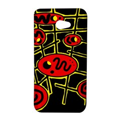 Red and yellow hot design HTC Butterfly S/HTC 9060 Hardshell Case