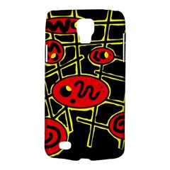 Red and yellow hot design Galaxy S4 Active