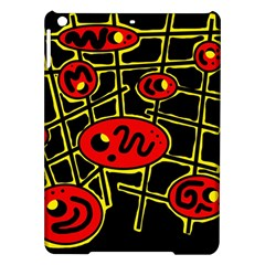 Red and yellow hot design iPad Air Hardshell Cases
