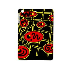 Red and yellow hot design iPad Mini 2 Hardshell Cases