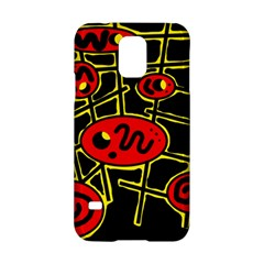 Red and yellow hot design Samsung Galaxy S5 Hardshell Case