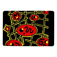 Red and yellow hot design Samsung Galaxy Tab Pro 10.1  Flip Case