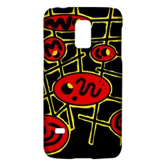 Red and yellow hot design Galaxy S5 Mini