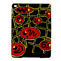 Red and yellow hot design iPad Air 2 Hardshell Cases