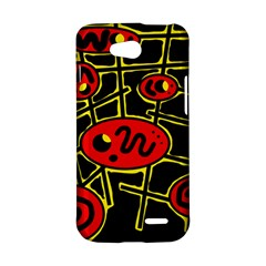 Red and yellow hot design LG L90 D410