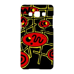 Red and yellow hot design Samsung Galaxy A5 Hardshell Case