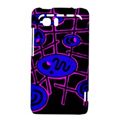 Blue and magenta abstraction HTC Vivid / Raider 4G Hardshell Case