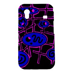Blue and magenta abstraction Samsung Galaxy Ace S5830 Hardshell Case
