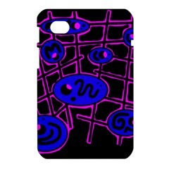 Blue and magenta abstraction Samsung Galaxy Tab 7  P1000 Hardshell Case