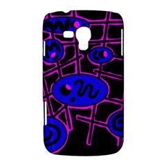 Blue and magenta abstraction Samsung Galaxy Duos I8262 Hardshell Case