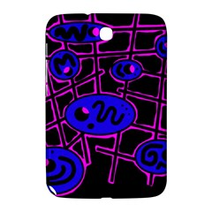 Blue and magenta abstraction Samsung Galaxy Note 8.0 N5100 Hardshell Case