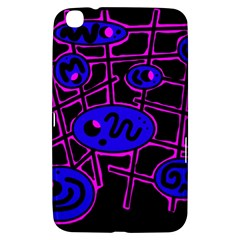 Blue and magenta abstraction Samsung Galaxy Tab 3 (8 ) T3100 Hardshell Case