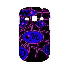 Blue and magenta abstraction Samsung Galaxy S6810 Hardshell Case