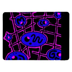 Blue and magenta abstraction Samsung Galaxy Tab Pro 12.2  Flip Case