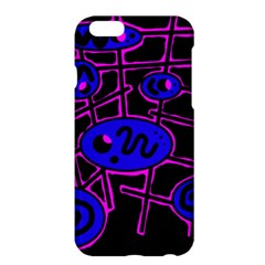 Blue and magenta abstraction Apple iPhone 6 Plus/6S Plus Hardshell Case