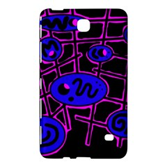 Blue and magenta abstraction Samsung Galaxy Tab 4 (8 ) Hardshell Case