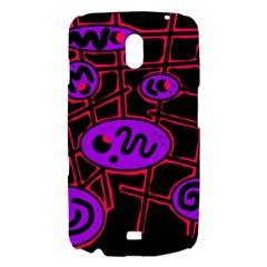 Purple and red abstraction Samsung Galaxy Nexus i9250 Hardshell Case