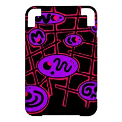 Purple and red abstraction Kindle 3 Keyboard 3G