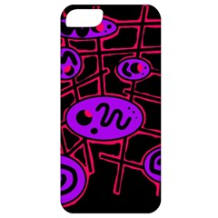 Purple and red abstraction Apple iPhone 5 Classic Hardshell Case