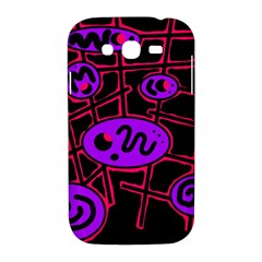 Purple and red abstraction Samsung Galaxy Grand DUOS I9082 Hardshell Case