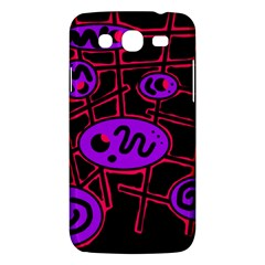 Purple and red abstraction Samsung Galaxy Mega 5.8 I9152 Hardshell Case