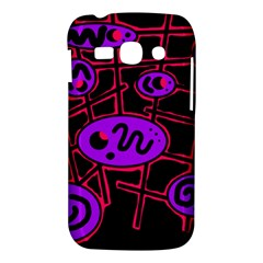Purple and red abstraction Samsung Galaxy Ace 3 S7272 Hardshell Case