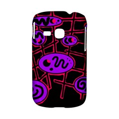 Purple and red abstraction Samsung Galaxy S6310 Hardshell Case