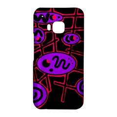 Purple and red abstraction HTC One M9 Hardshell Case