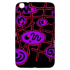 Purple and red abstraction Samsung Galaxy Tab 3 (8 ) T3100 Hardshell Case