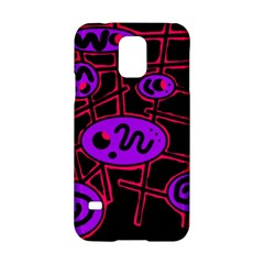 Purple and red abstraction Samsung Galaxy S5 Hardshell Case