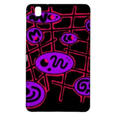 Purple and red abstraction Samsung Galaxy Tab Pro 8.4 Hardshell Case