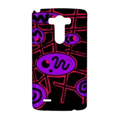 Purple and red abstraction LG G3 Hardshell Case