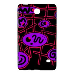 Purple and red abstraction Samsung Galaxy Tab 4 (7 ) Hardshell Case
