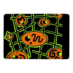 Orange and green abstraction Samsung Galaxy Tab Pro 10.1  Flip Case
