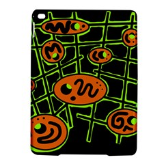 Orange and green abstraction iPad Air 2 Hardshell Cases