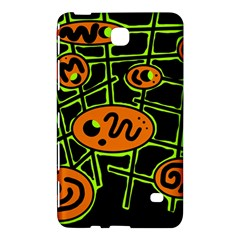 Orange and green abstraction Samsung Galaxy Tab 4 (8 ) Hardshell Case