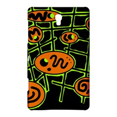Orange and green abstraction Samsung Galaxy Tab S (8.4 ) Hardshell Case
