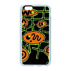 Orange and green abstraction Apple Seamless iPhone 6/6S Case (Color)