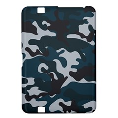 Blue Camo Pattern Kindle Fire HD 8.9